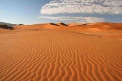 Нетронутые дюны